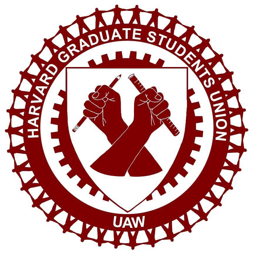 Harvard Graduate Students UAW Logo