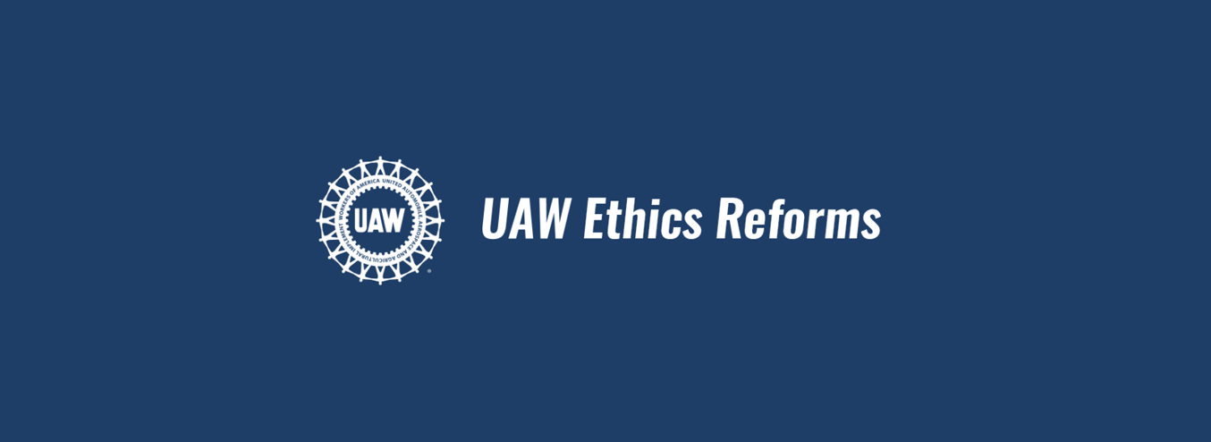 UAW Ethics Reforms
