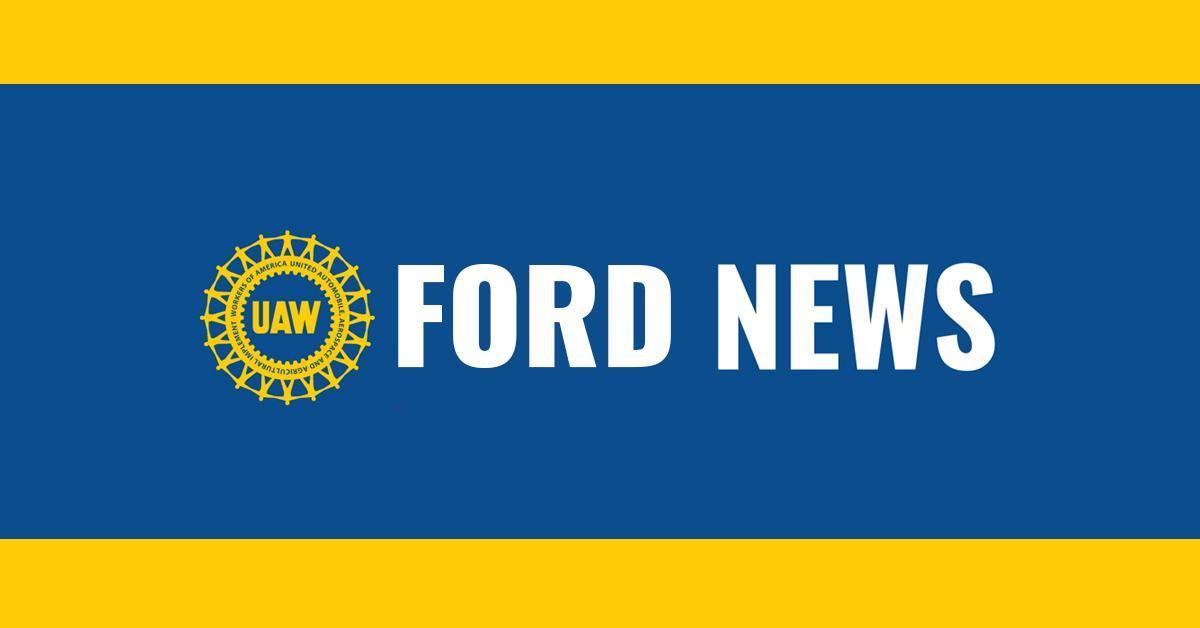 UAW Ford News