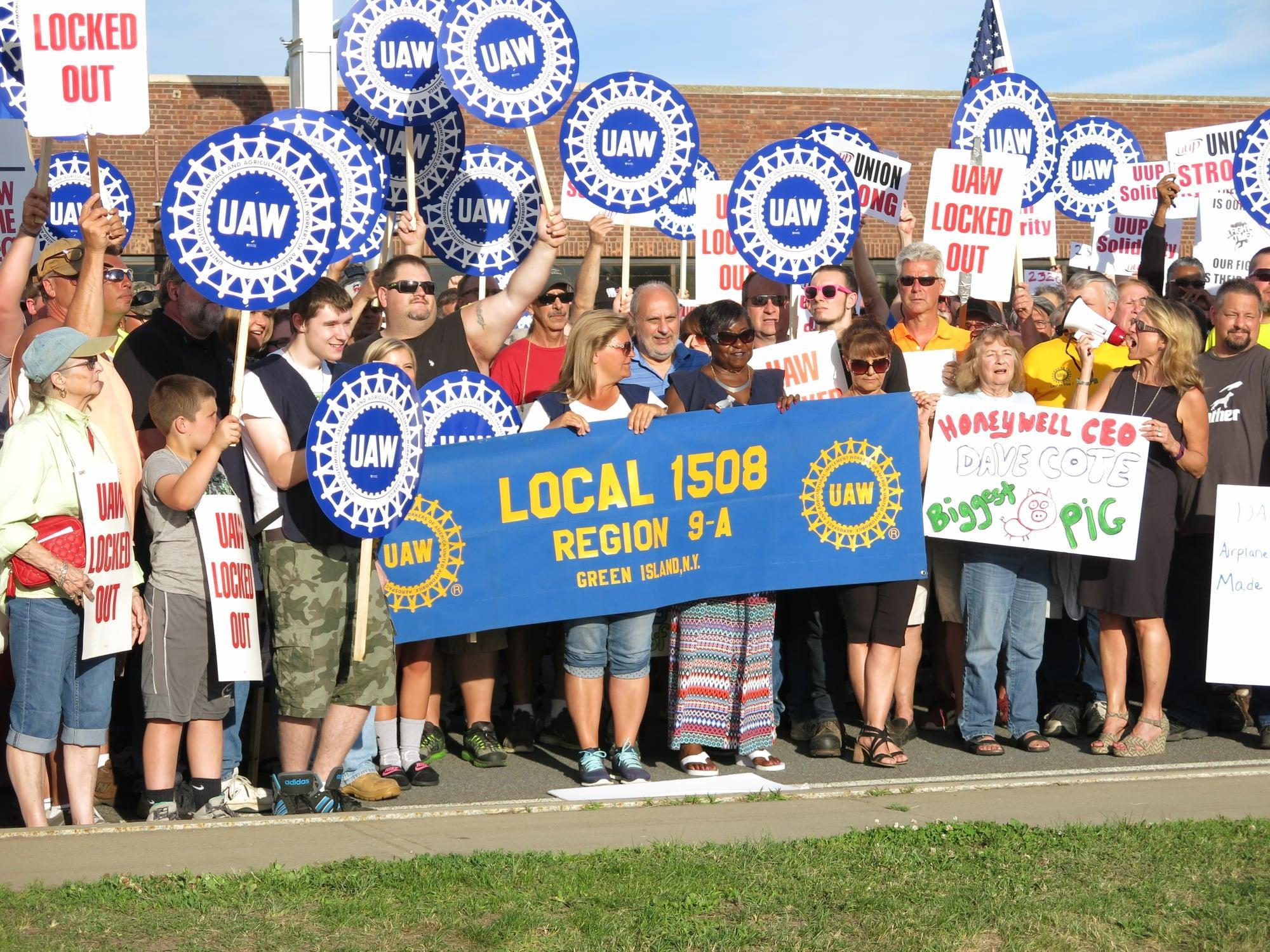 UAW Local 1508 Rally